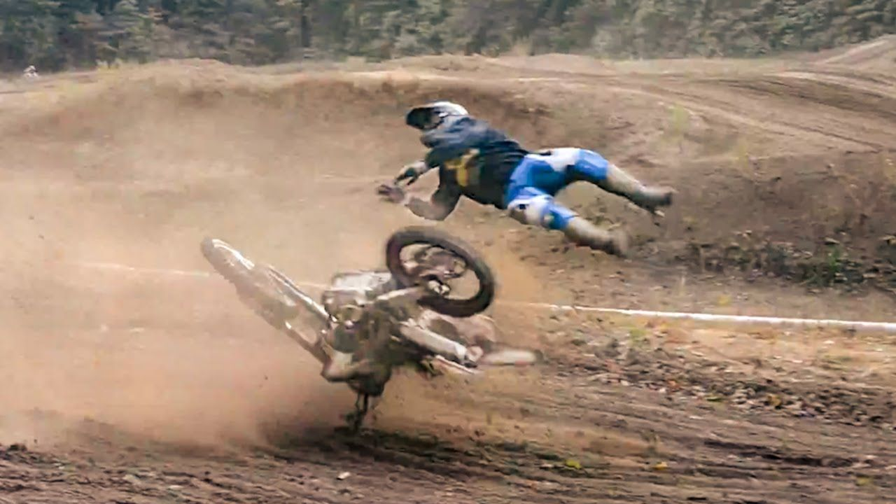 Scary Motocross Accidents 2015 Motocross Bike Accident Dirt