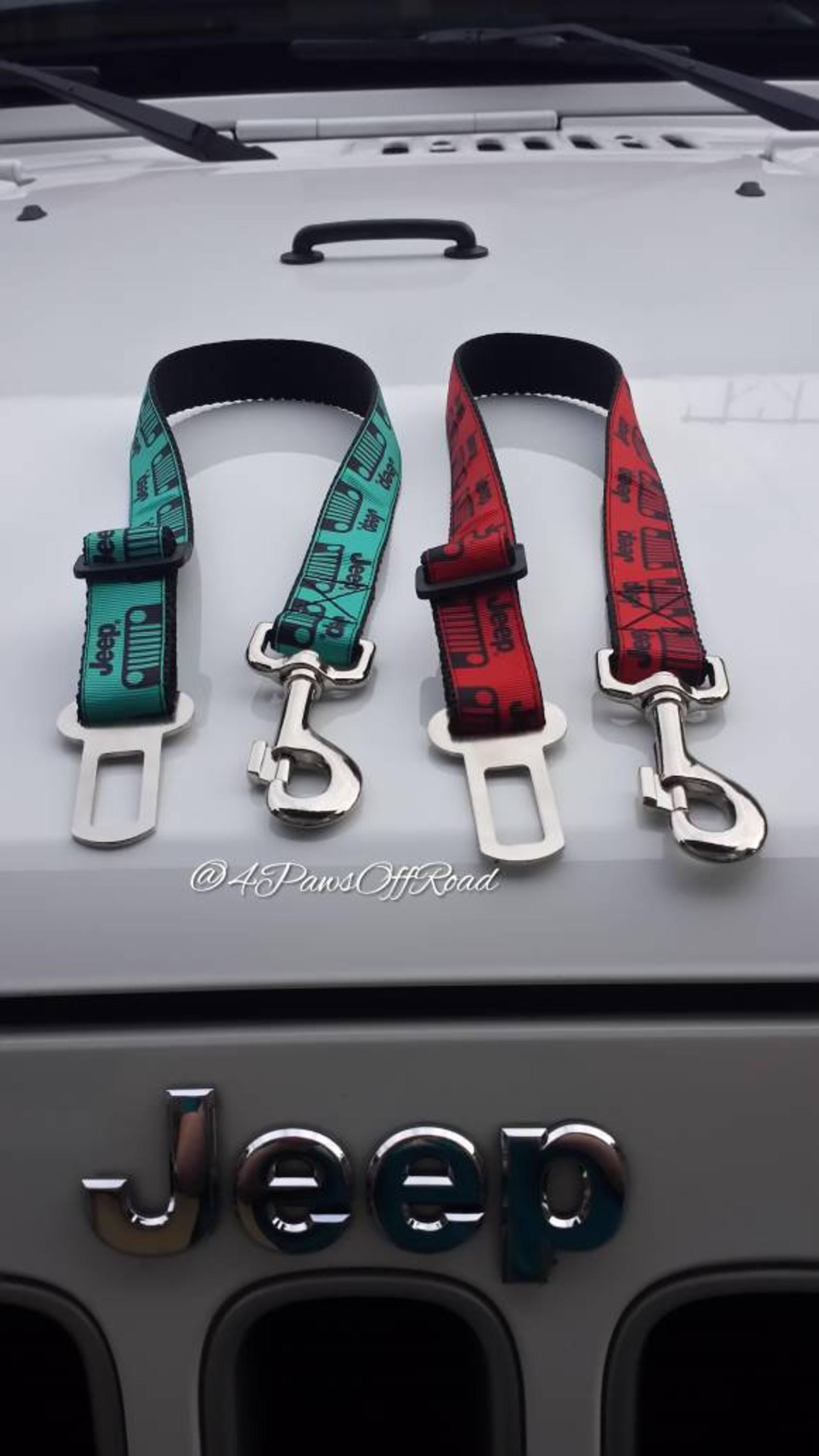 Jeep Dog Safety Seat Belt 22 colors!