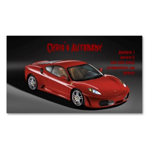 Automobile Business Card
