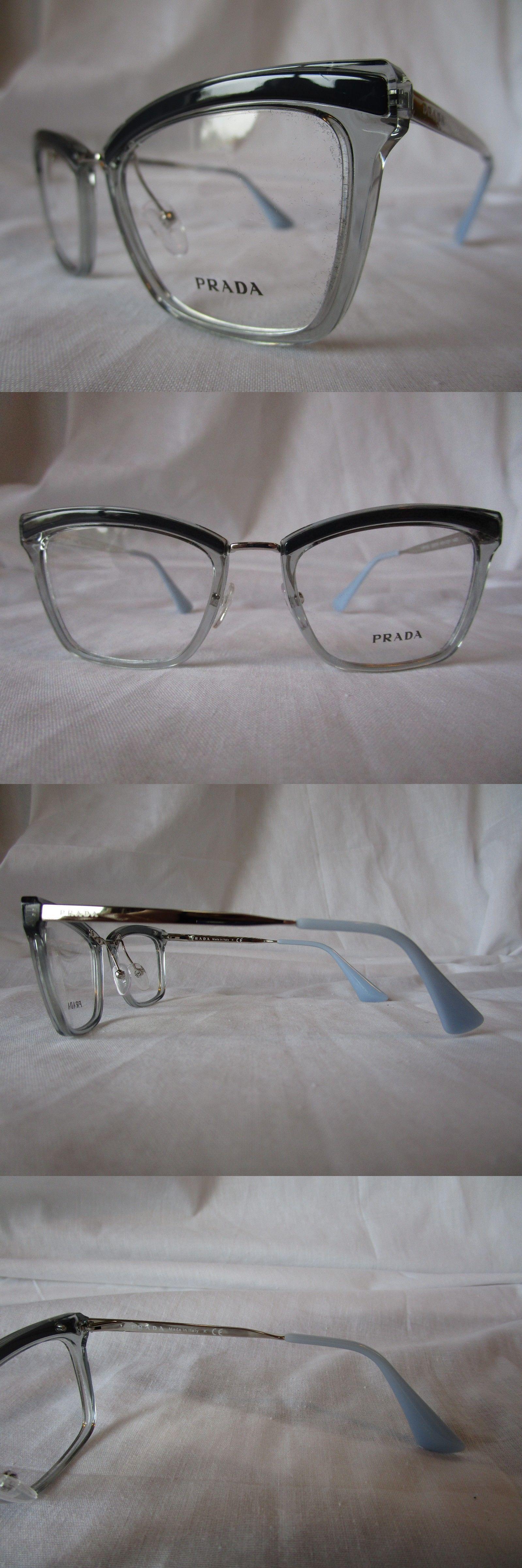 e00304329fc6 ... where can i buy eyeglass frames 180957 prada eyeglass frame pr15uv  ki5101 blue grey and silver