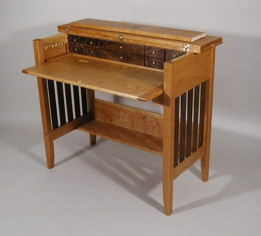 Black Walnut Amp Cherry Fly Tying Desk For The Home