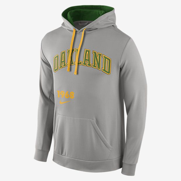 size 40 1eb79 02c23 Nike Pullover (MLB A's) Men's Performance Hoodie | Mens ...