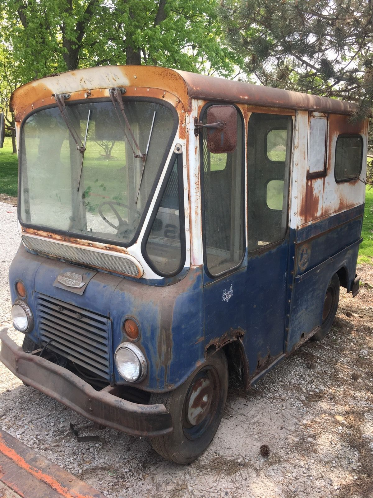 1963 postal fleetvan for sale on ebay june 2017 located in libertyville illinois jeep. Black Bedroom Furniture Sets. Home Design Ideas