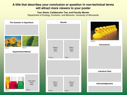How To Create an Effective Poster Presentation - Ithaca College