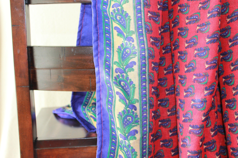 Brilliant Handcrafted Red Blue Throw Blanket Blanket Sofa Blanket Uwap Interior Chair Design Uwaporg