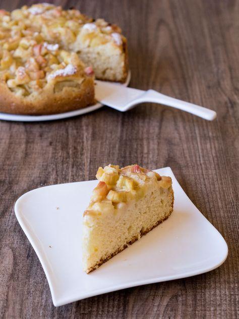 Rhabarber Joghurt Kuchen Rezept Backen Pinterest Kuchen