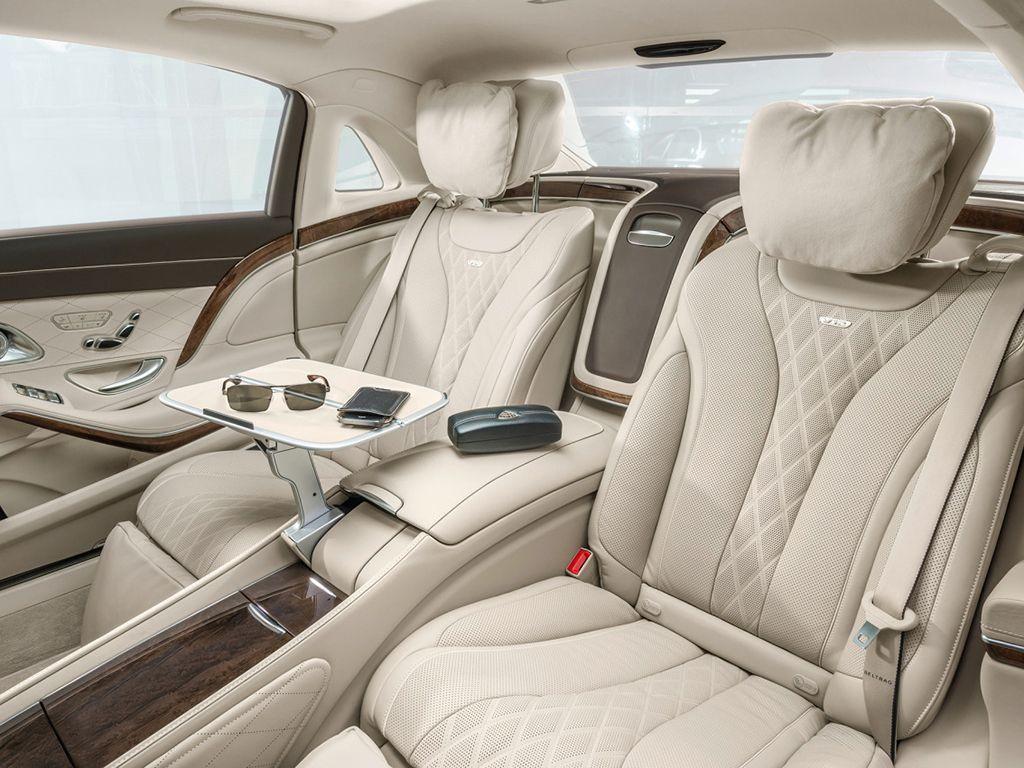 Mercedes Benz Clase S Maybach Vehículo De Lujo Clase S Interior De Camiones