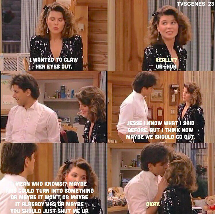 This Is My Favourite Thing Out Of All Of Full House Becky Full House Full House Full House Funny