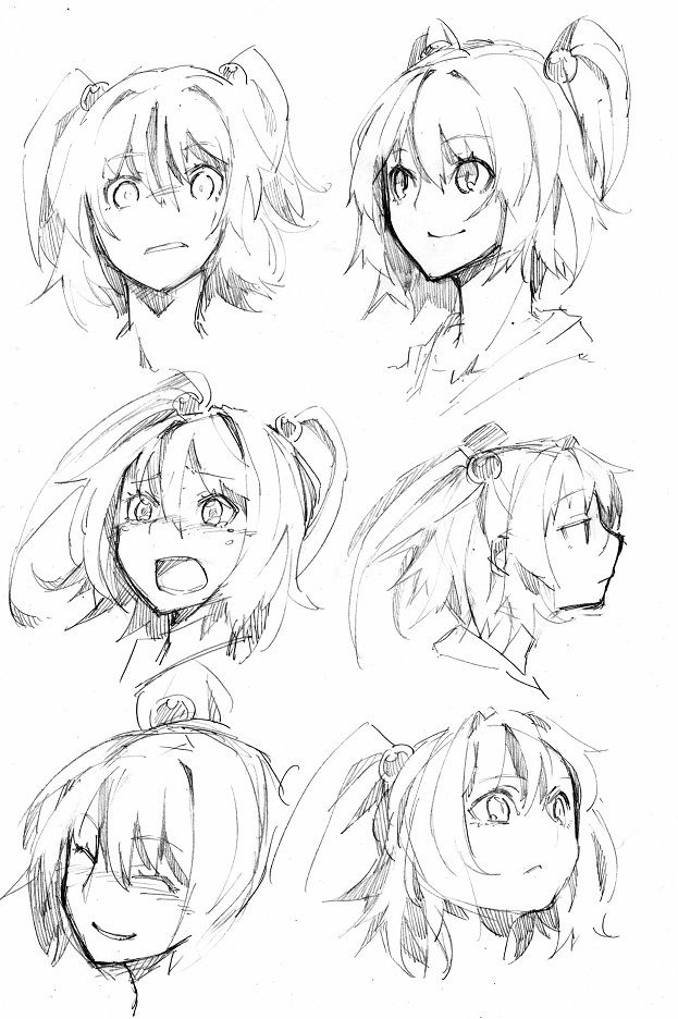 Manga drawing · emotions tutorial