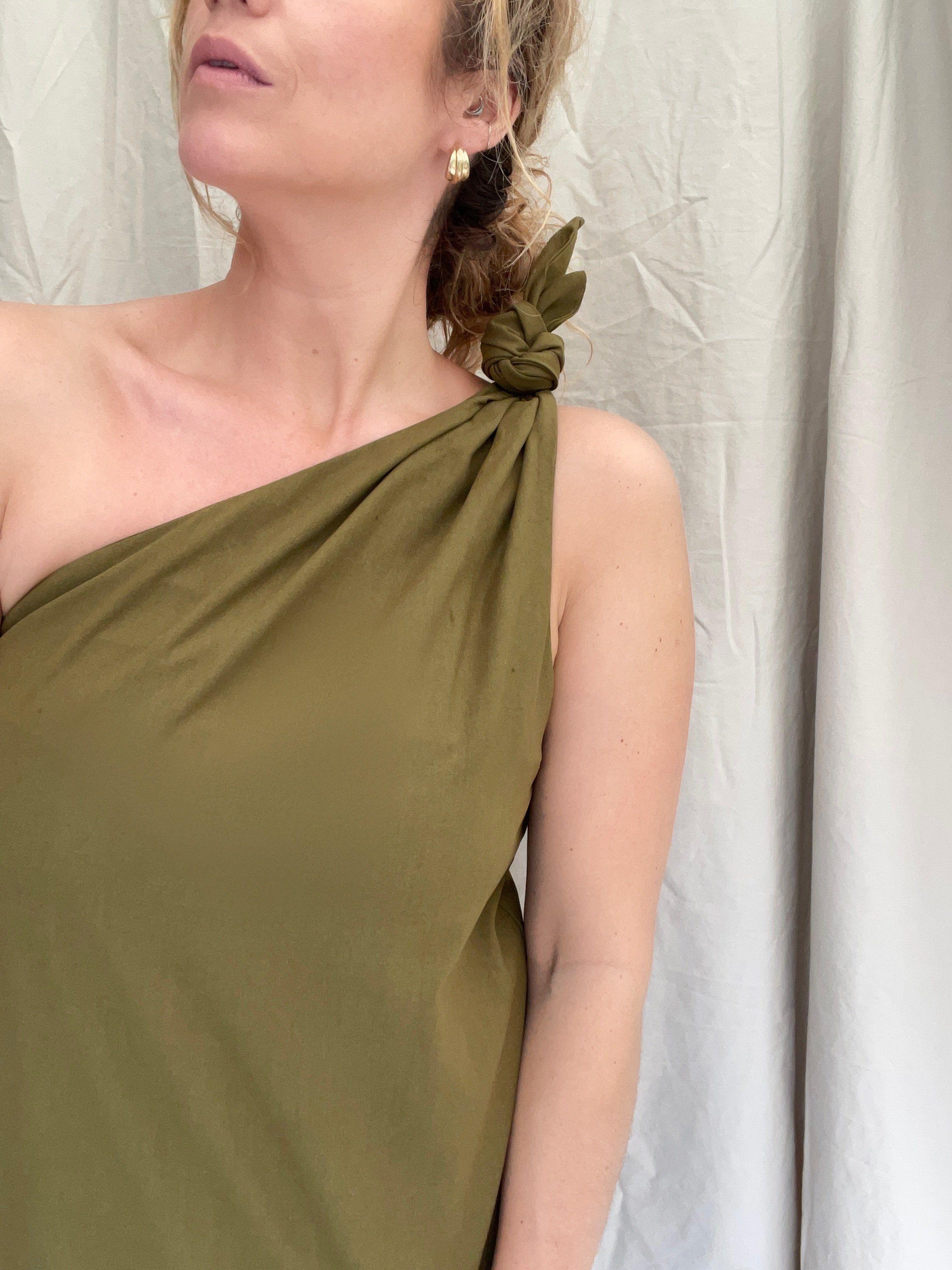 Keisha Knot Top - s/m / French Bronze