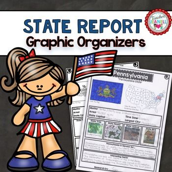 State Research Project - Graphic Organizers Social studies - science project report