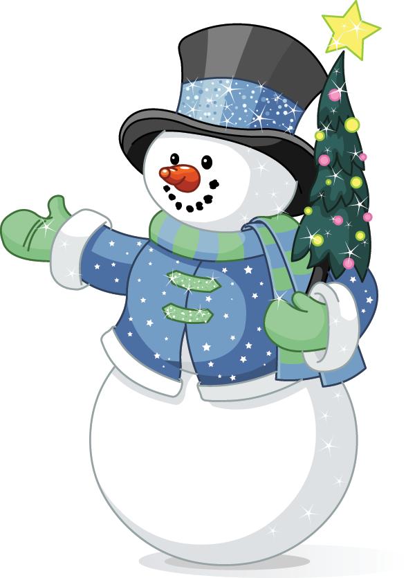 Friendly Snowman Cute snowman, Snowman clipart, Snowman
