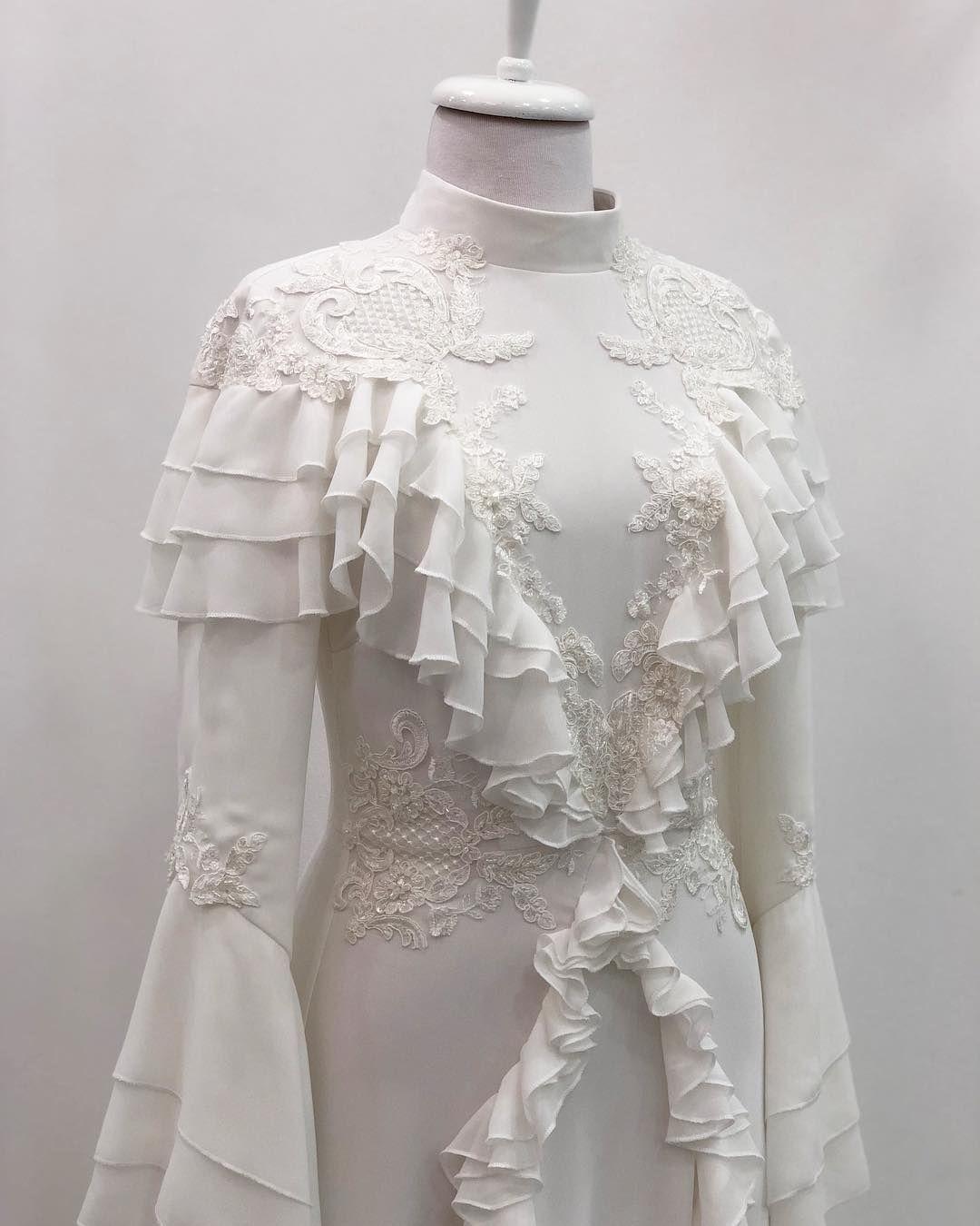 Tum Magaza Firfir Tesettur Elbise Modelleri 2020 Sifon Gelinlikler Elbise Dugun Vintage Elbise