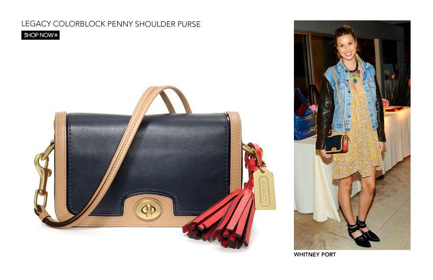 e83d8b5944 Coach Legacy Leather Penny Shoulder Purse Crossbody Bag – Shoulder ...