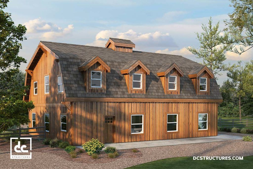 Admirable The Alberta Barn Home Kit 3 Bedroom Gambrel Barn Home Download Free Architecture Designs Rallybritishbridgeorg