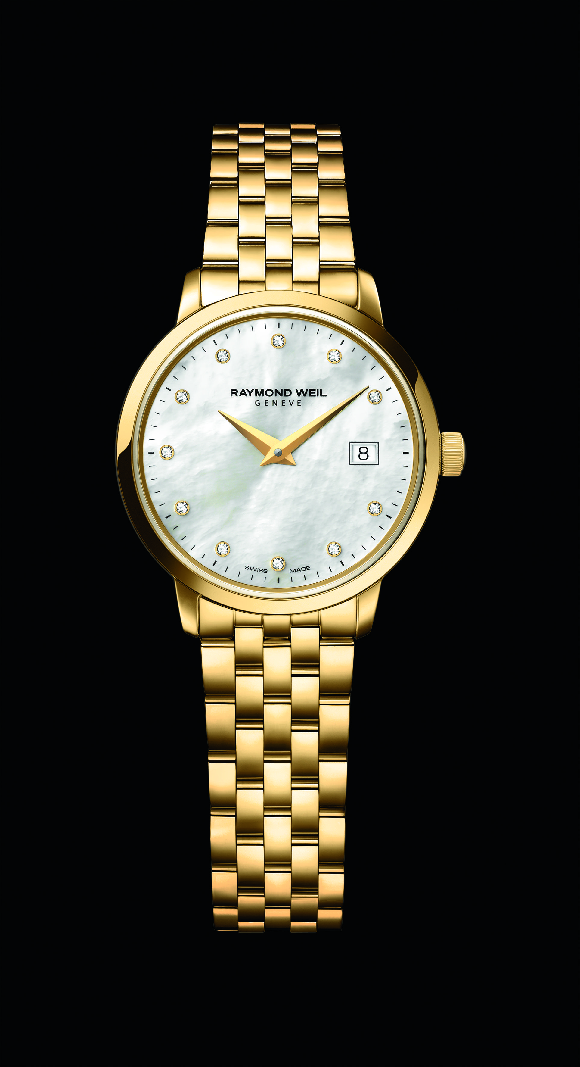 The Toccata Watch Collection For Men And Women This Model Is The Ladies 29mm Model Studded With 11 Diamonds Refer Womens Watches Raymond Weil Watches Watches