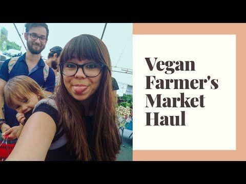VEGAN Farmer's Market Haul! | MOM VLOG - YouTube #veganparenting #veganmom #toddlermom
