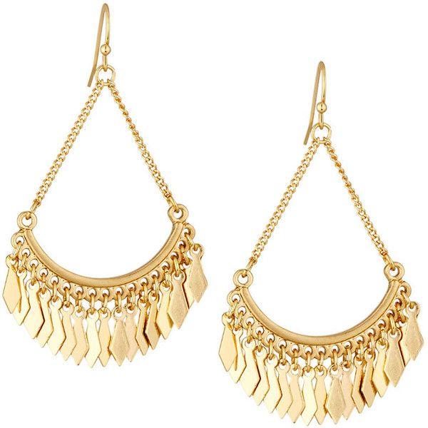 Panacea Golden Teardrop Earrings AluWFPWl