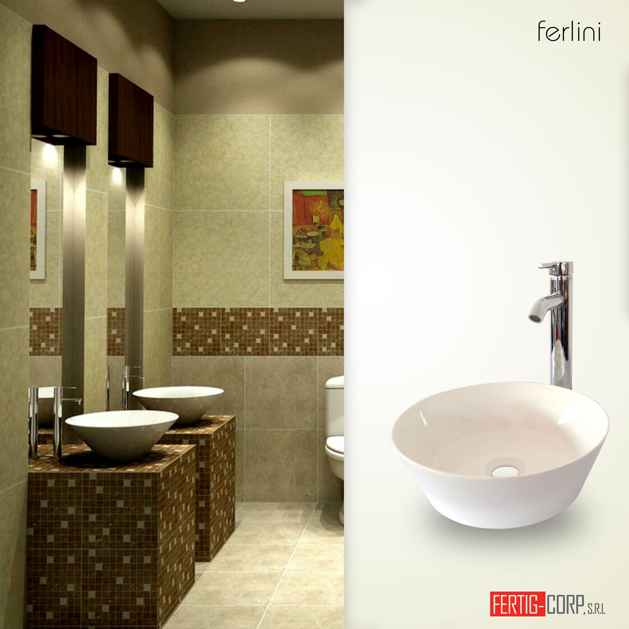 Baños en tonalidades tierra convertiran tu baño en estilo lleno de comodidad y exclusividad. ‪#‎FertigCorp‬ ‪#‎homedesign‬ ‪#‎interiordesign‬ ‪#‎interiores‬ ‪#‎baños‬ ‪#‎bathroooms‬ ‪#‎bañosconestilo‬ ‪#‎singularbathrooms‬ ‪#‎modahogar‬ ‪#‎stylishbathroom‬ ‪#‎relax‬ ‪#‎home‬ ‪#‎furniture‬ ‪#‎decor‬ ‪#‎bathroomdecorn‬ ‪#‎decoraciondebaños‬ ‪#‎bathroomdesign‬ ‪#‎diseñodeinterior‬ ‪#‎amazing‬ ‪#‎yoquieroestoenmicasa‬