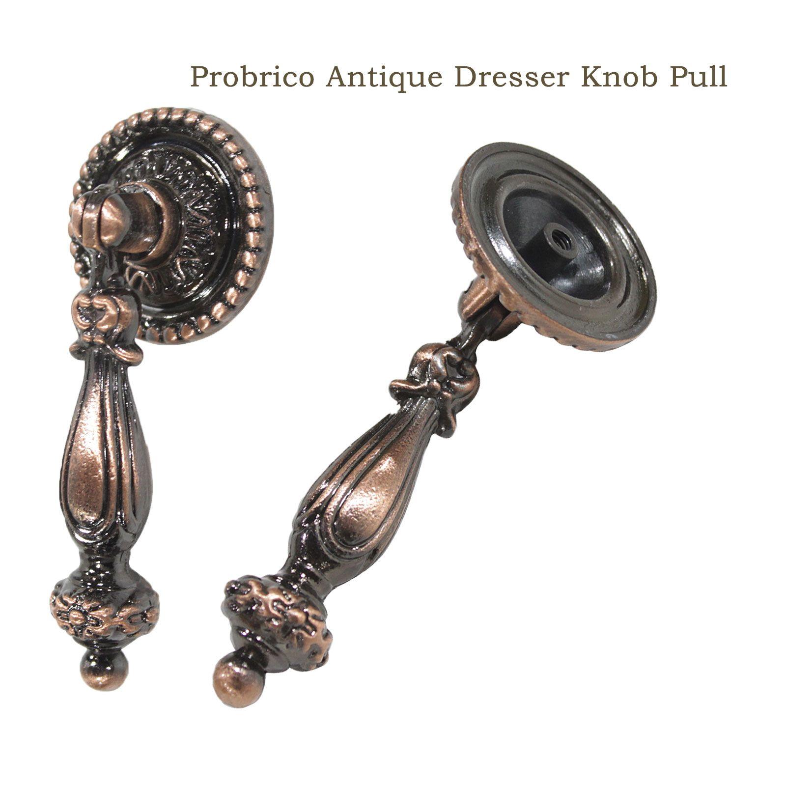 Cabinet knobs antique bronzeantique copper vintage furniture