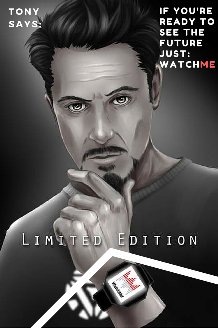 No one is as ahead with technology and gadgets like Tony Stark  Look
