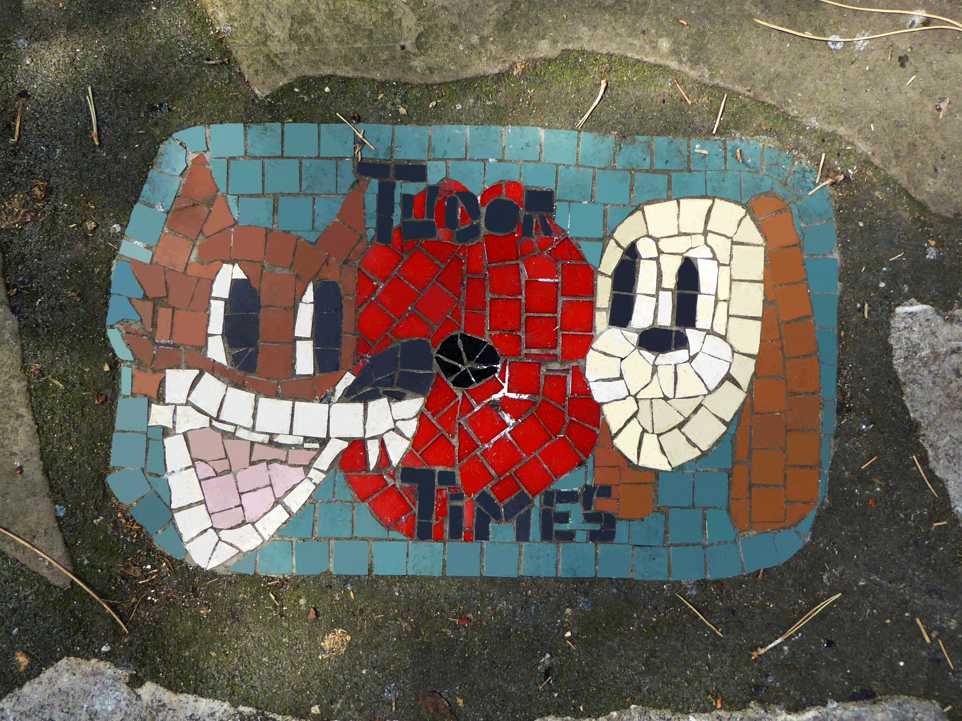From A Collection Of Mosaics East Park Southampton Photo Credit