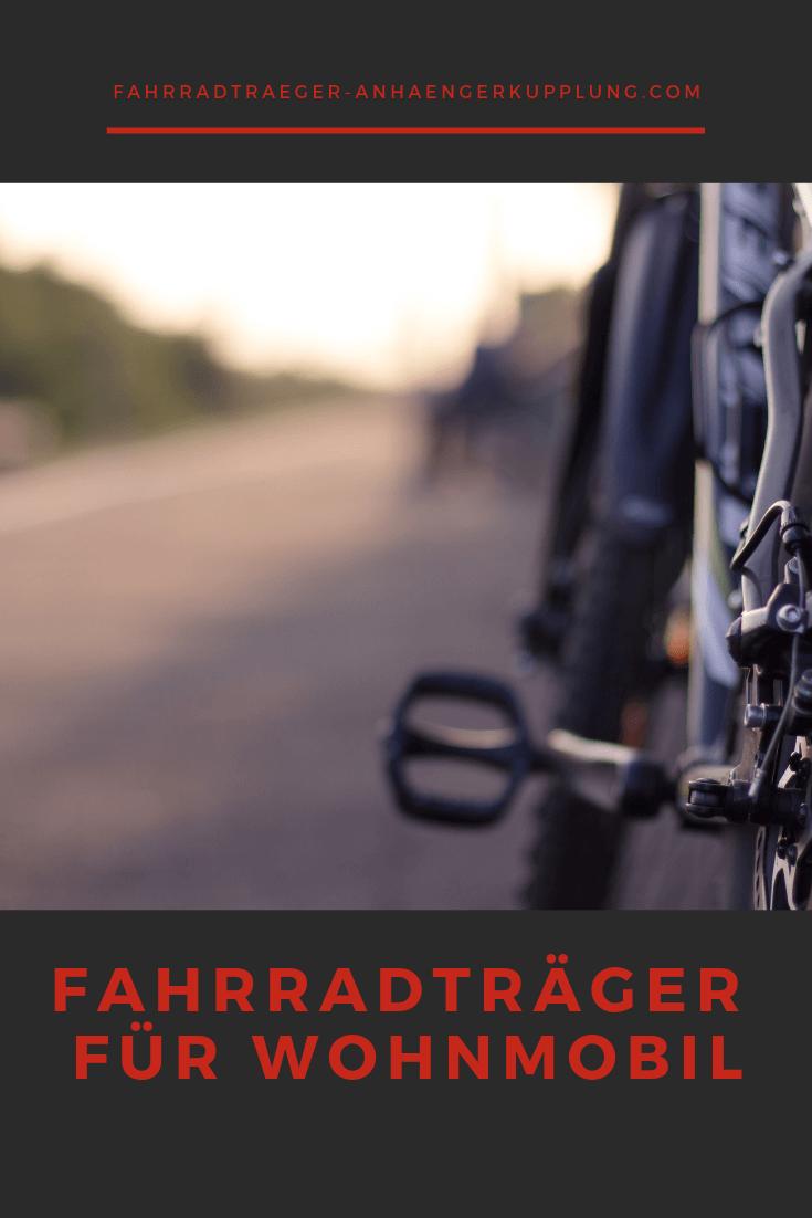 Passende Fahrradtrager Fur Dein Wohnmobil Fahrradtrager Fahrrad Anhangerkupplung
