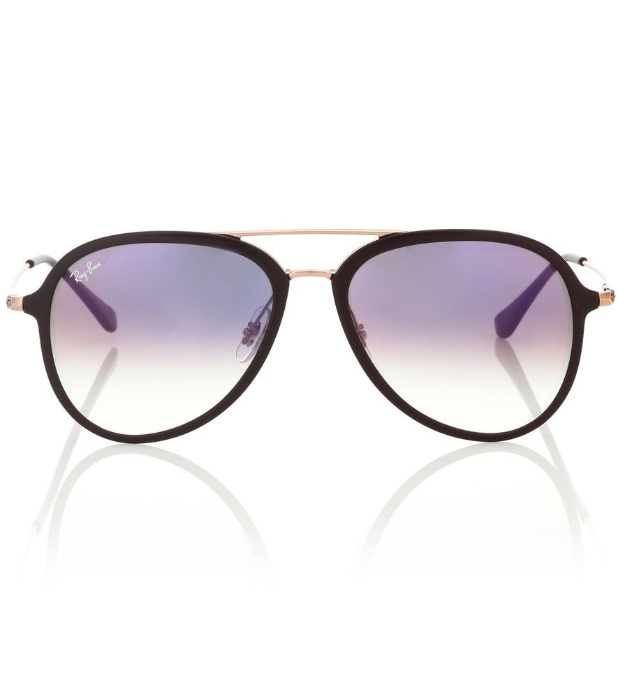 708f23ce23 Ray-Ban - RB4298 aviator sunglasses - Ray-Ban s iconic aviator sunglasses  are a must-have no matter the season. Crafted in Italy