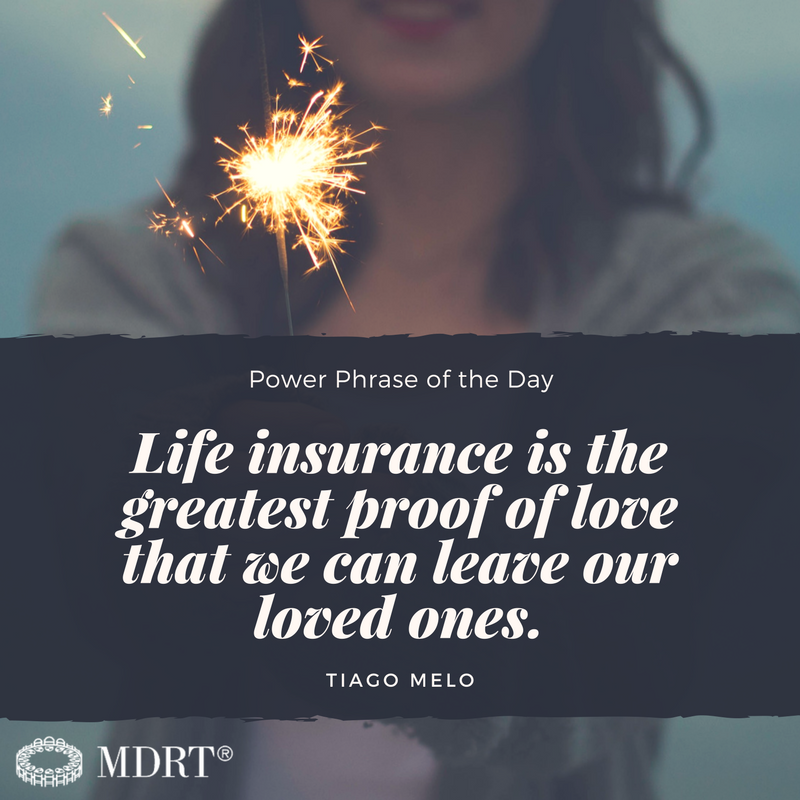 Life Insurance Is The Greatest Proof Of Love That We Can Leave Our