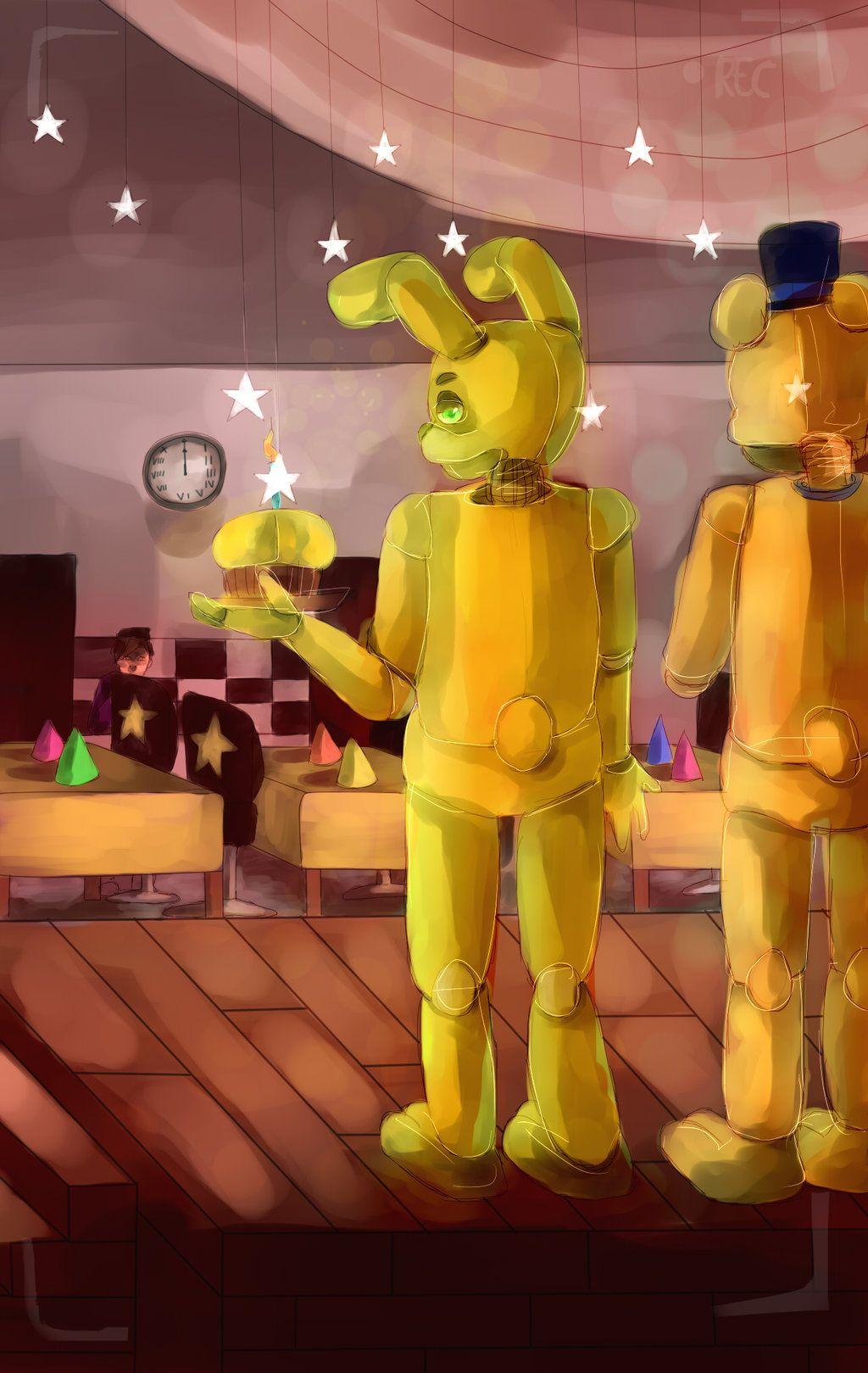 Fredbears family diner demo play now - Fredbear Family Dinner Stage By Mikymichelle Deviantart Com On Deviantart