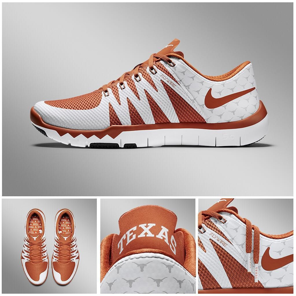 The Women's Nike Texas Longhorns Zoom Fitness Training Shoe features Zoom  Air unit, mesh upper, and Flywire cables! … | Pinteres…
