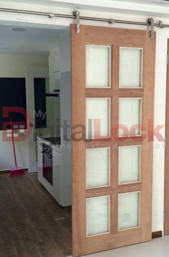 Sliding Door With Top Hung Puertas Colgantes Pinterest