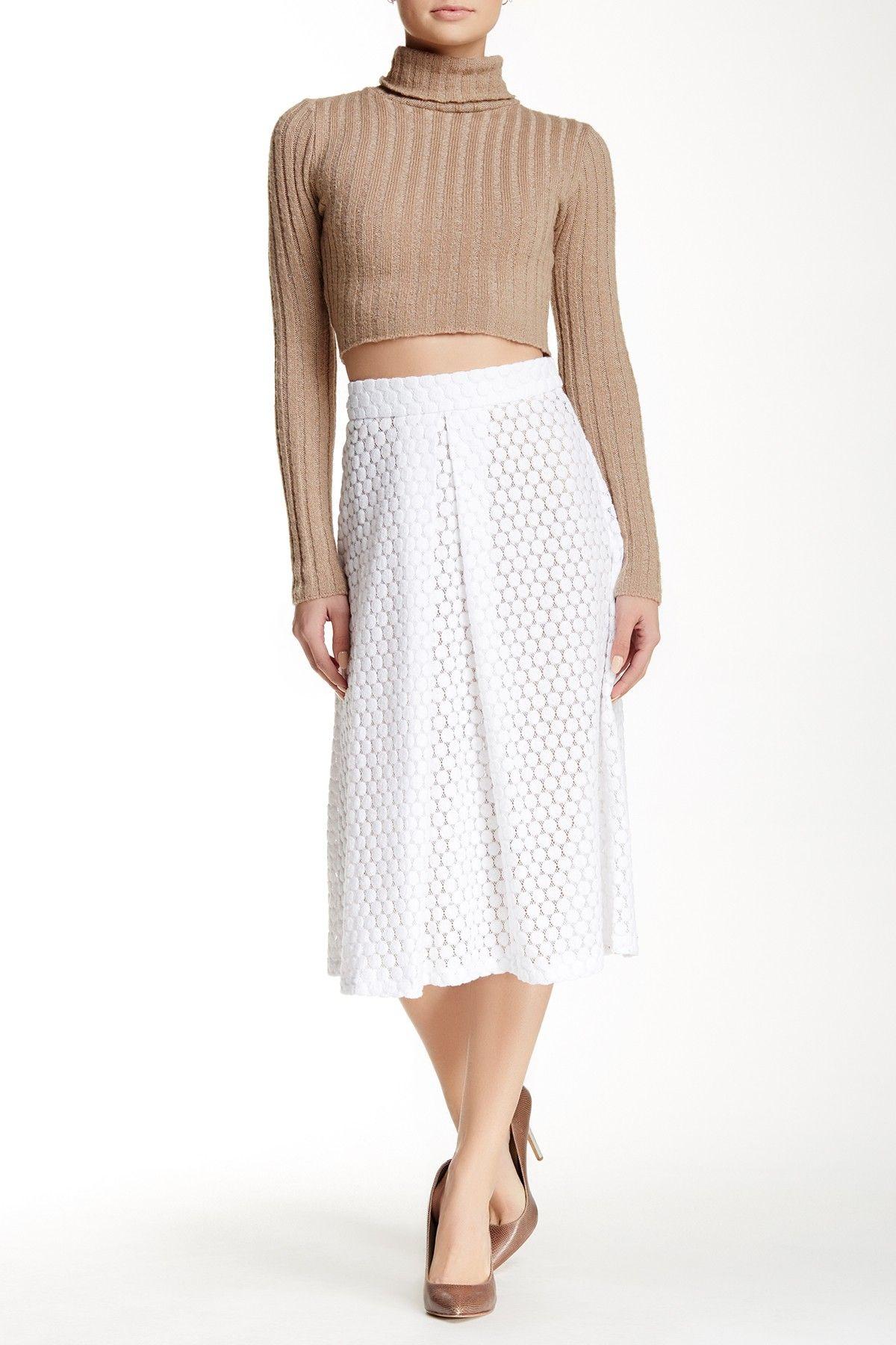 05350e8a15 Lace Midi Skirt