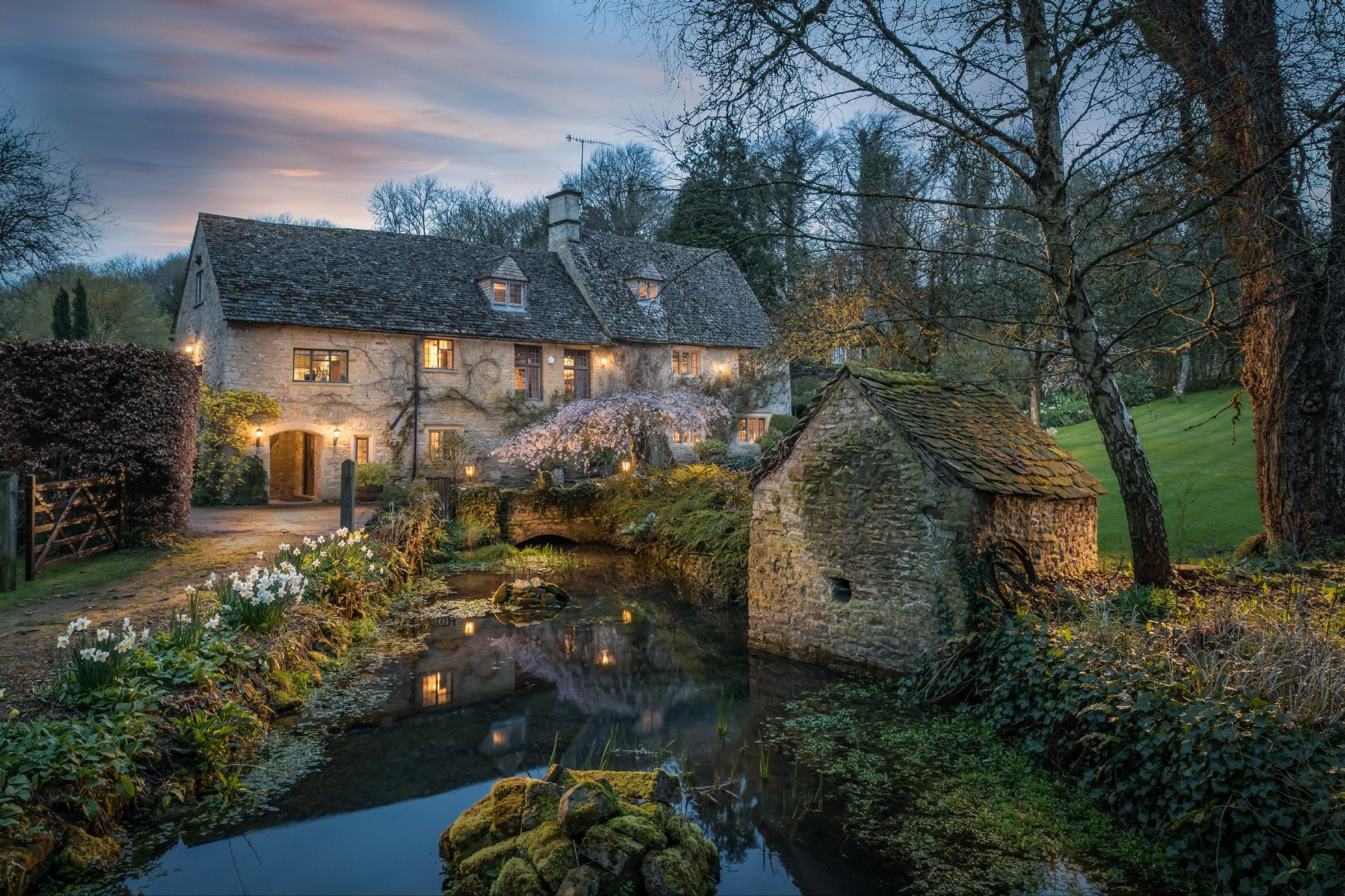 This magical Cotswolds millhouse calls you to run wild in