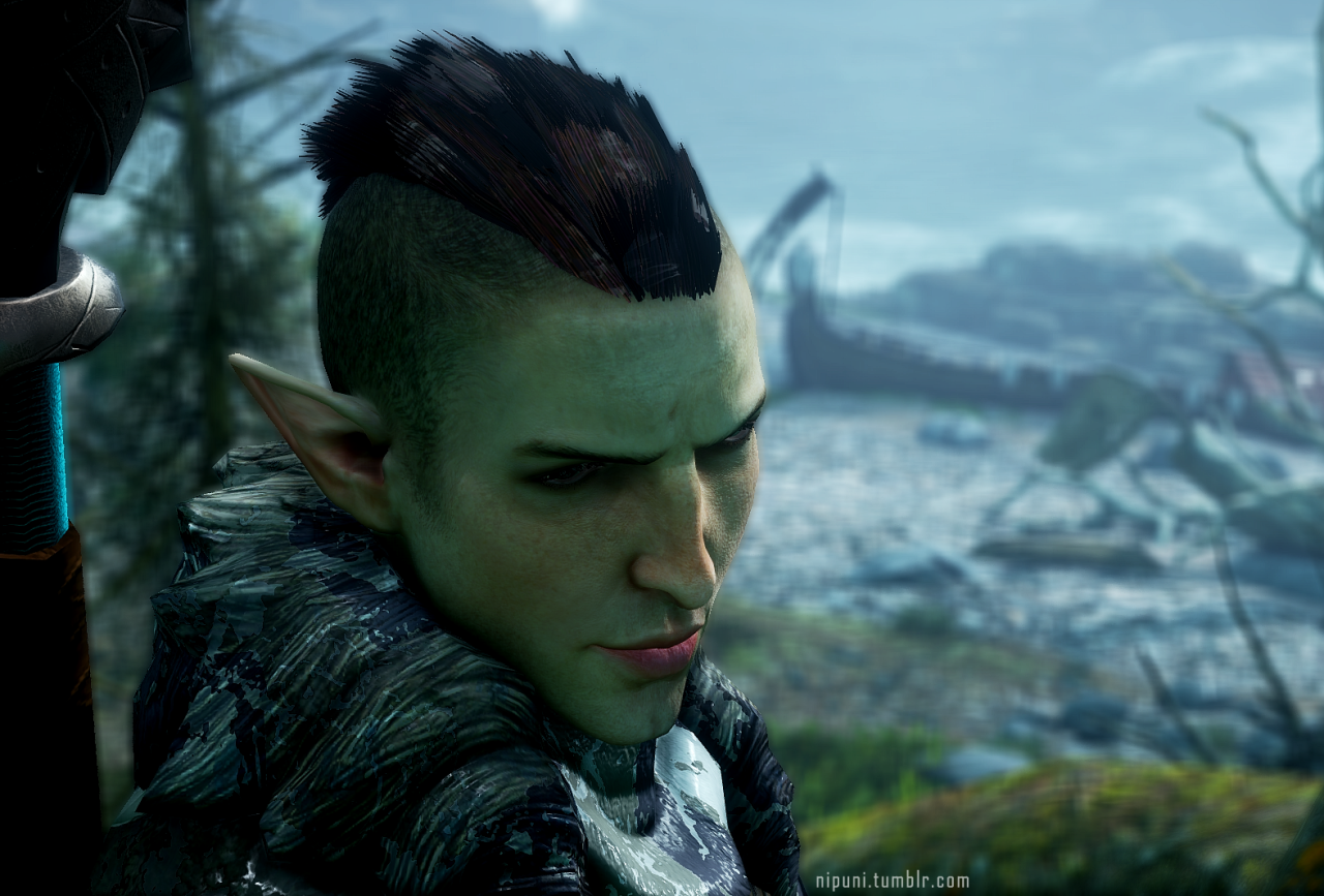 Nipunitumblr Solass New Hairstyle Dragon Age Pinterest