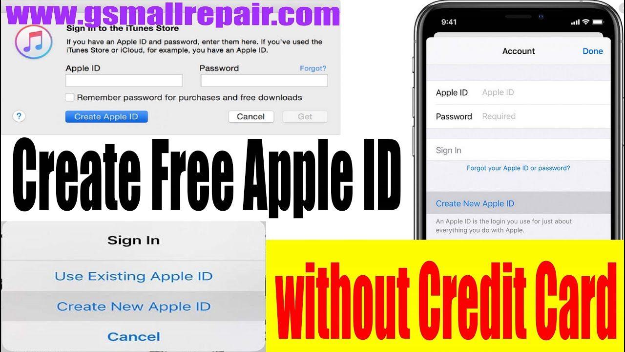 Create Free Apple Id Without Credit Card إنشاء حساب أيتونزمجانا Apple Credit Card Icloud