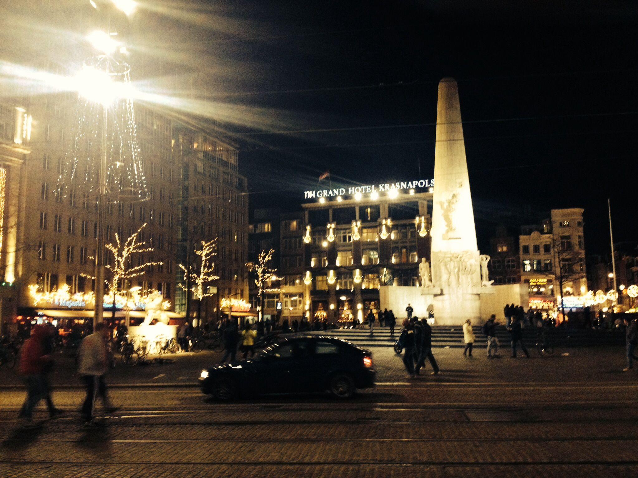 Christmas in Amsterdam :)