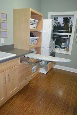 Awesome Upstairs Laundry Room From De Jong Dream House
