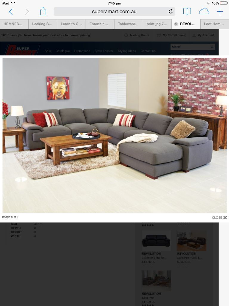 Revolution Lounge From Super Amart Family Living Rooms Lounge Room Home Decor