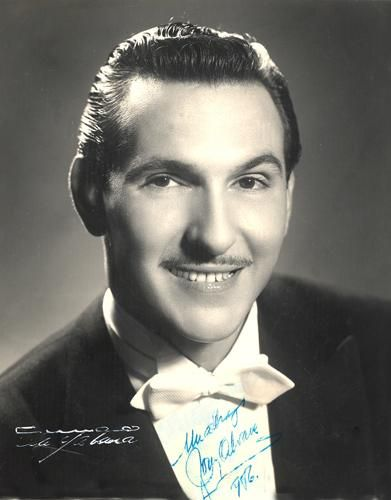 Tony Alvarez - Well known in cuban television during the 40's and 50's.