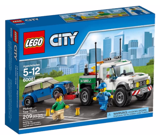 Lego City 2015 Pickup Tow Truck Lego City Tow Truck Trucks