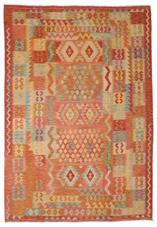 Kelim Afghan Old Style Teppich 210x298 Teppich