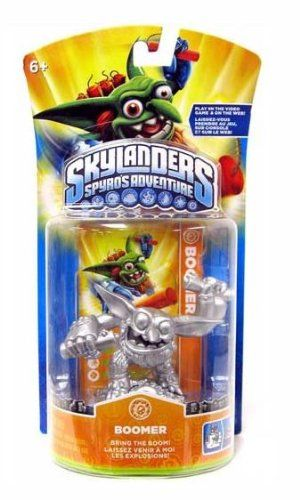 SILVER Skylanders Spyros Adventure BOOMER Figure *** More info could be found at the image url.