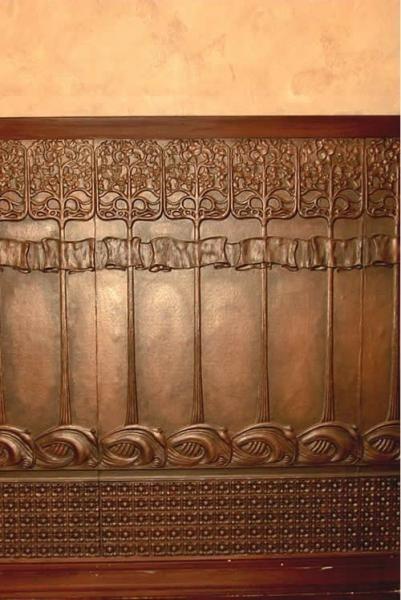 Lincrusta Art Nouveau Dado Panels In 2019 Art Nouveau