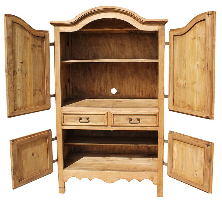 Delicieux Rustic Pine Collection   Small Sierra Armoire   ARM12