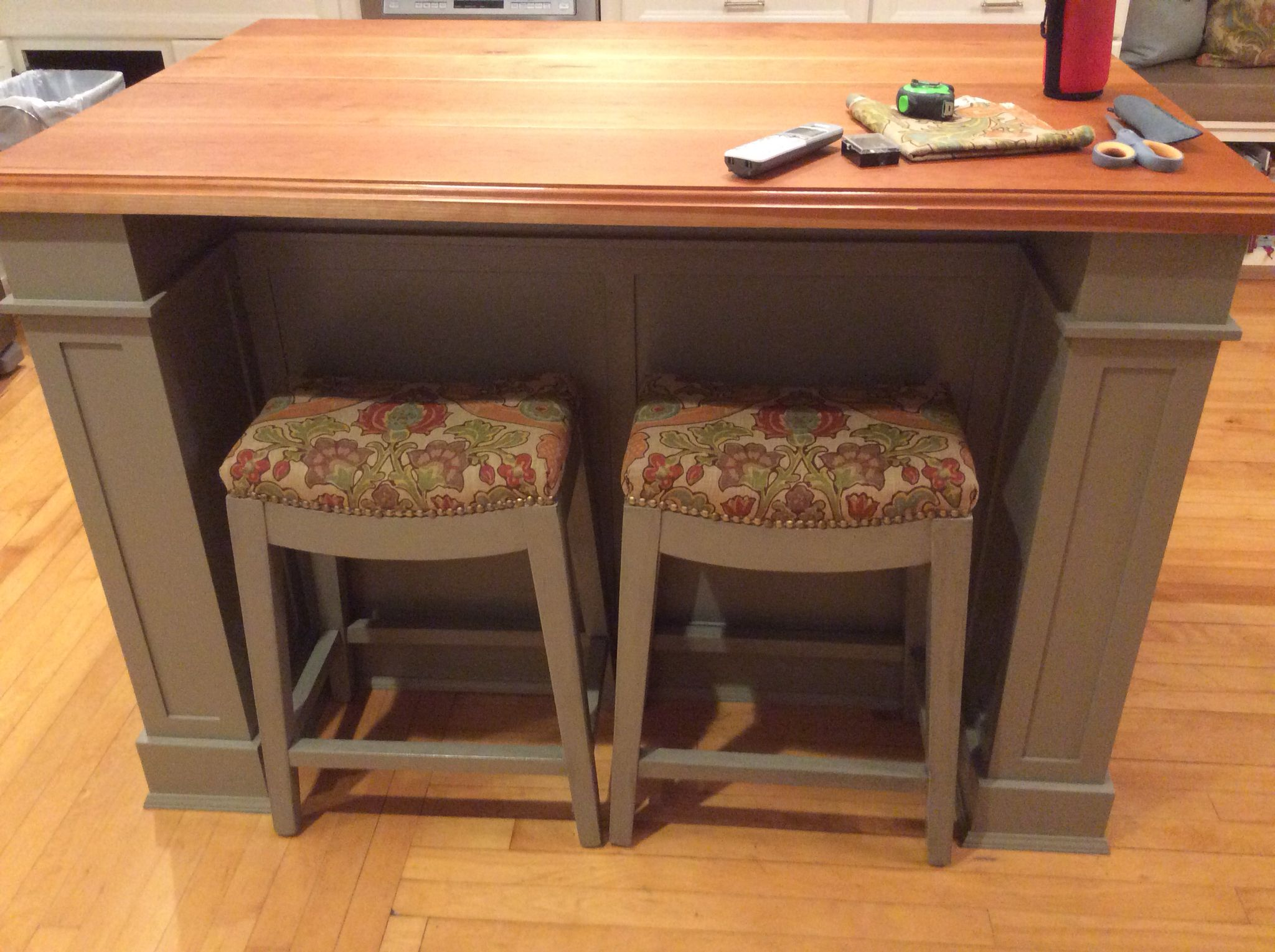Excellent Counter Stool Project Using Kravet Pottery Barn Simone Ocoug Best Dining Table And Chair Ideas Images Ocougorg