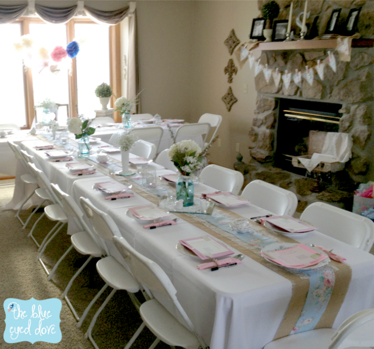 shabby chic bridal shower decor easy decorating ideas theblueeyeddovecom