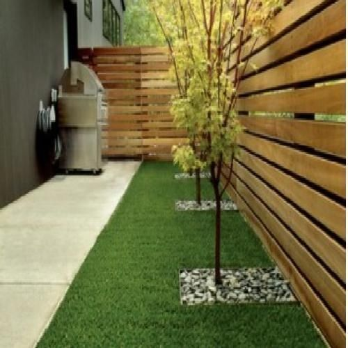 Backyard Landscaping Ideas Along Fence: Artificial-Grass-Carpet-Rug-Indoor-Outdoor-Patio-Turf-Area
