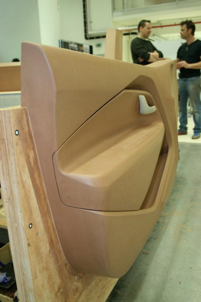 Og 2011 Kia Rio Mk3 Door Clay Model Avtokresla Avtomobili Maketirovanie