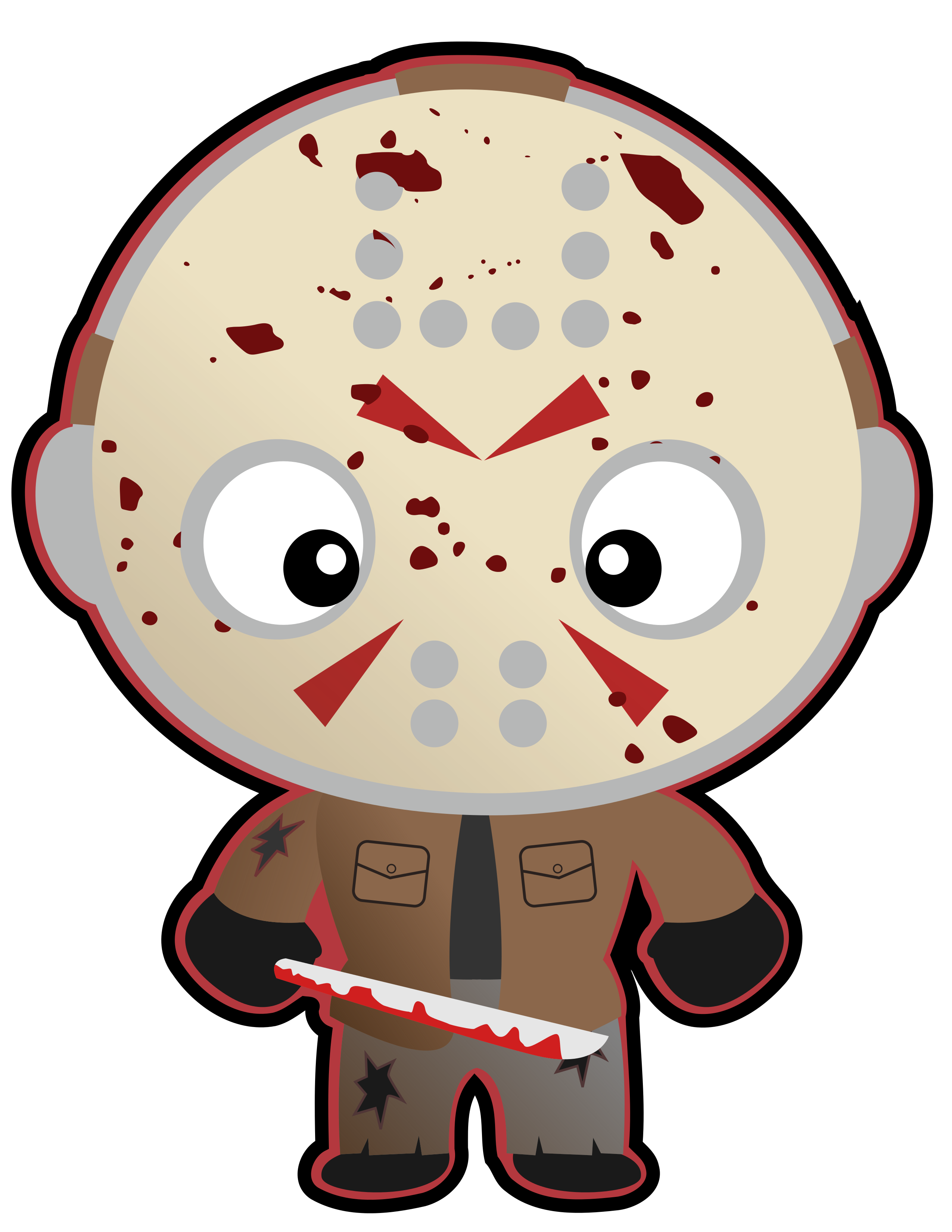 Halloween Clipart Frankenstein S Monster Jason Voorhees Leatherface Michael Myers Pinhead Pennywise Instant Download Cute Funko Halloween Clipart Clip Art Art Party Invitations